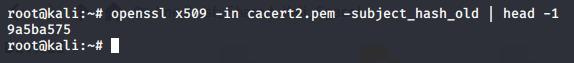 Openssl Code Result